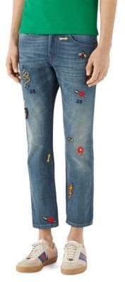 Gucci Stonewashed Denim Jeans