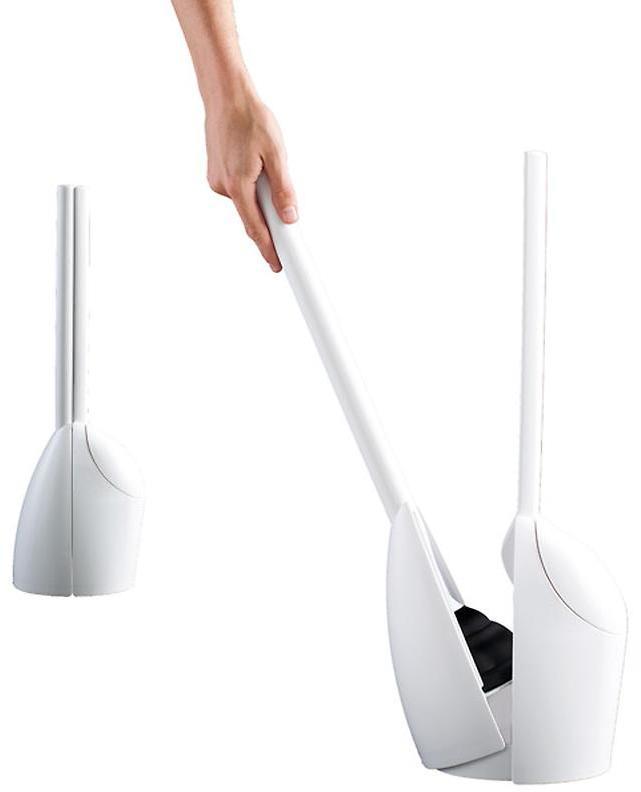 Umbra Twofold 2-in-1 Brush/Plunger White