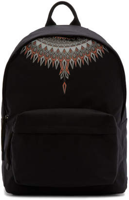 Marcelo Burlon County of Milan Black Norwegian Wings Backpack
