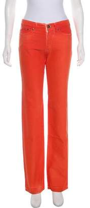 Versace VJC Mid-Rise Straight Jeans