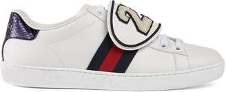 Ace sneaker with removable patches $950 thestylecure.com