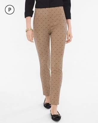 So Slimming Petite Juliet Straight-Leg Herringbone Pants