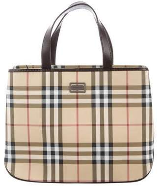 Burberry Medium Nova Check Tote
