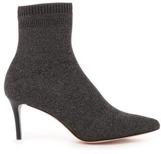 Pour La Victoire Daphne Nickle Knit Heel Boot