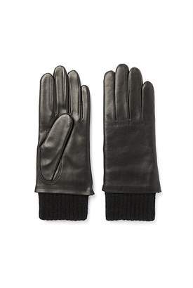 Country Road Leather Rib Glove