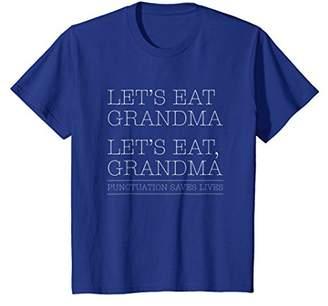 Let's Eat Grandma Grammar Shirt