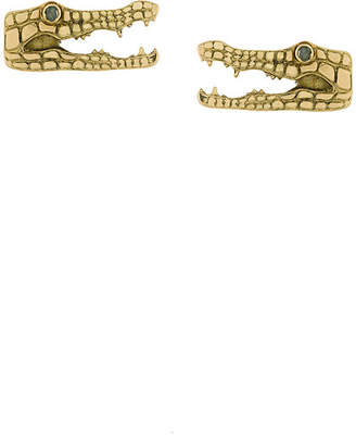 Marc Alary crocodile Earrings