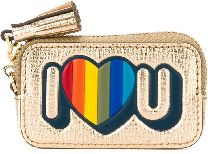 Anya Hindmarch Anya Hindmarch 'I love you' coin purse