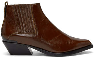 Rag & Bone Brown Leather Westin Boots