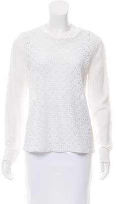 Equipment Sheer Lace Top