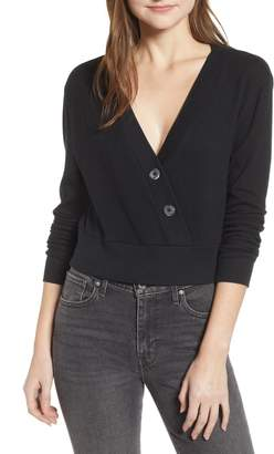 BP Asymmetrical Button Top