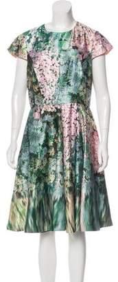 Ted Baker Satin A-Line Dress