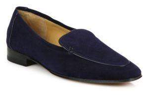 The Row Adam Suede Loafers $795 thestylecure.com