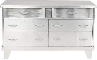 Metal-Clad Chest of Drawers