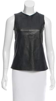 Narciso Rodriguez Leather Sleeveless Top w/ Tags