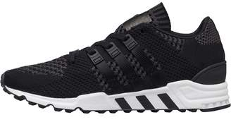 adidas EQT Support RF Primeknit Trainers Core Black/Core Black/Footwear White