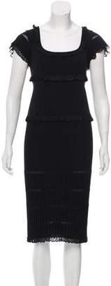 Dolce & Gabbana Midi Knit Dress