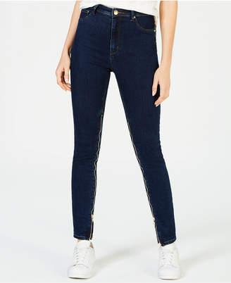 Anthony Logistics For Men La La Power-Zip Stiletto High-Rise Skinny Jeans