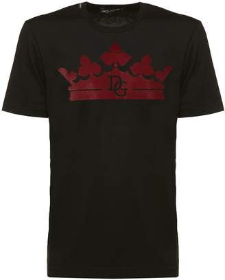 Dolce & Gabbana Crown Logo T-shirt