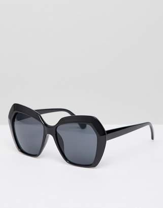 New Look Angular Oversized Sunglasses