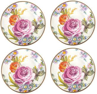 Mackenzie Childs MacKenzie-Childs - Flower Market Canape Plate - Set of 4