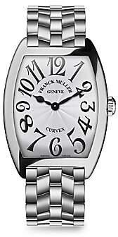 Franck Muller Women's Cintree Curvex Stainless Steel Bracelet Watch