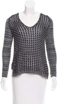 Helmut Lang Crochet Knit Sweater
