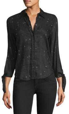 Rails Star Embroidered Blouse