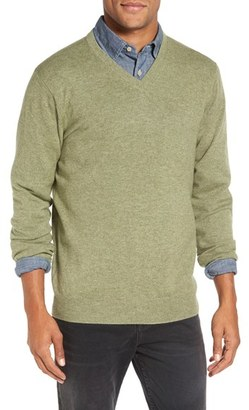 Men's Rodd & Gunn 'Invercargill' Wool & Cashmere V-Neck Sweater $178 thestylecure.com