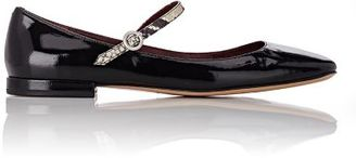 Marc Jacobs Women's Park Mary Jane Flats-BLACK $295 thestylecure.com