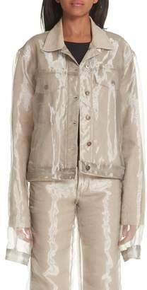 Y/Project Organza Denim Jacket