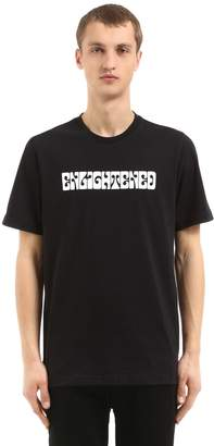 Oamc Enlightened Print Cotton Jersey T-Shirt