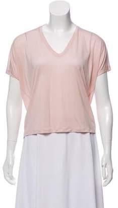 Acne Studios V-Neck Short Sleeve T-Shirt w/ Tags
