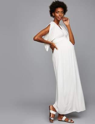 Ingrid & Isabel Caftan Maternity Maxi Dress