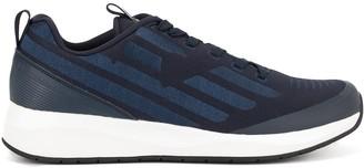 Emporio Armani Ea7 side striped sneakers