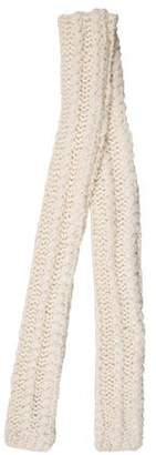 Rebecca Minkoff Wool-Blend Cable Knit Scarf