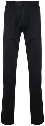Emporio Armani regular chino trousers