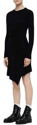 AllSaints Krista Asymmetric Sweater Dress