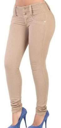 Yacun Women Stretchy Skinny Pants Ankle Butt Lifting Leggings XS