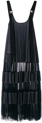 Aviu pleated pinafore