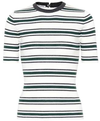Miu Miu Striped wool sweater
