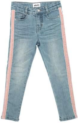 Molo Velvet Side Bands Stretch Denim Jeans