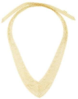 Tiffany & Co. 18K Mesh Necklace