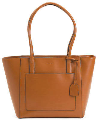 Rfid Leather Audrey Margaret Tote