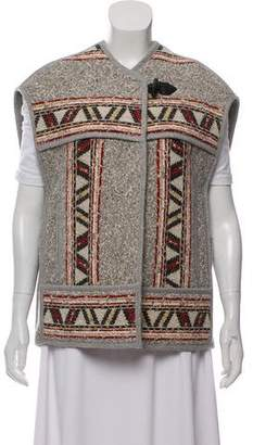 Isabel Marant Embroidered Wool Vest w/ Tags