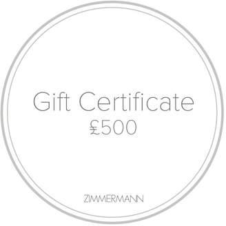 Zimmermann Gift Certificate 500