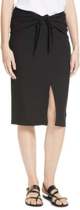 Jenni Kayne Crepe Tie Skirt