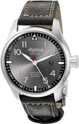 Alpina Men's AL-525GB4S6 Startimer Pilot Analog Display Automatic Self Wind Watch