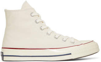Converse White Chuck Taylor 70 High-Top Sneakers