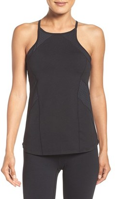 Women's Zella Perfection Tank With Shelf Bra $65 thestylecure.com